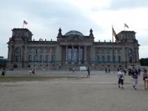 Einer der wichtigsten Gebäude Deutschlands: Der Reichstag.